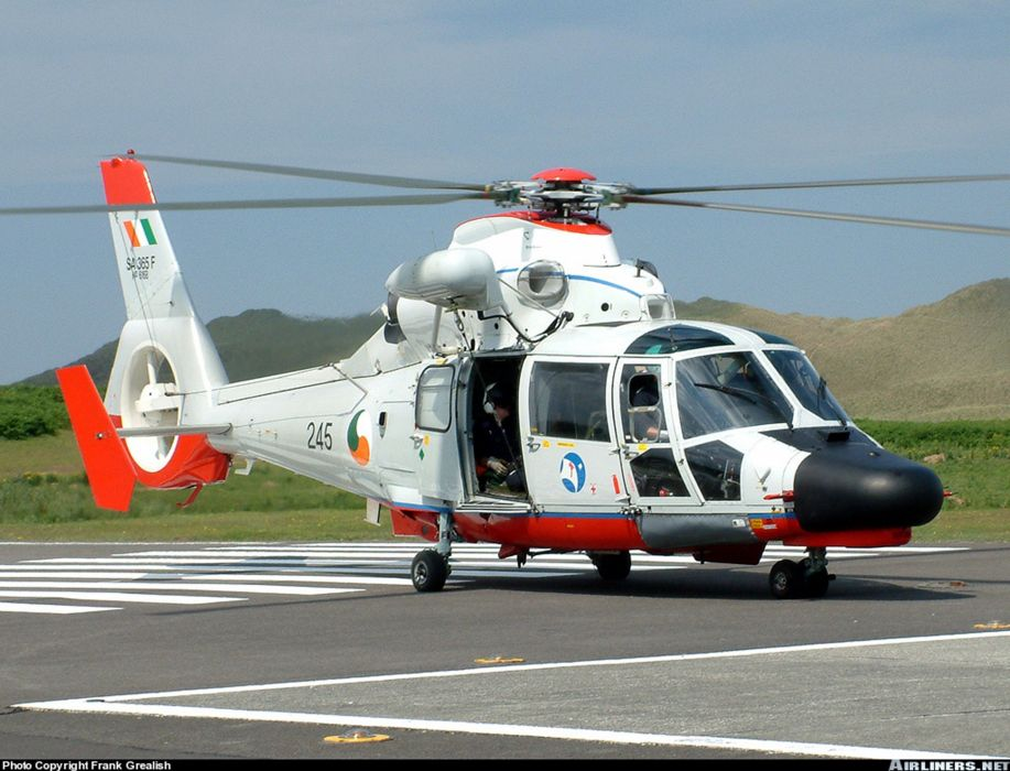 helicopter aircraft rescue Ireland wallpaper