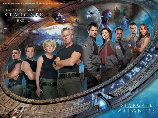 STARGATE ATLANTIS adventure television series action drama sci-fi (3) wallpaper
