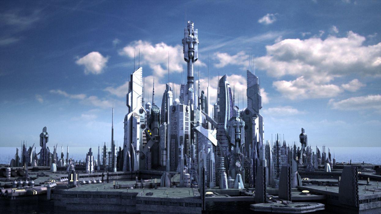 STARGATE ATLANTIS adventure television series action drama sci-fi (5) wallpaper