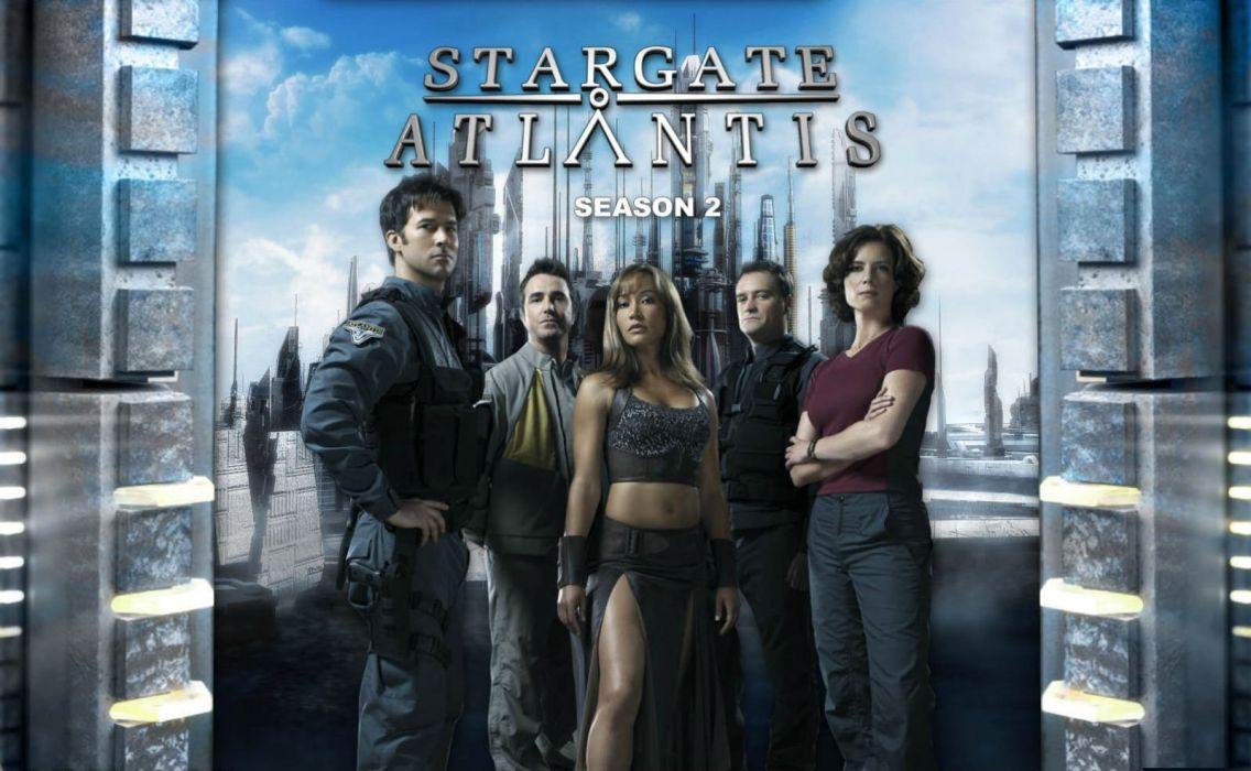 STARGATE ATLANTIS adventure television series action drama sci-fi (12) wallpaper