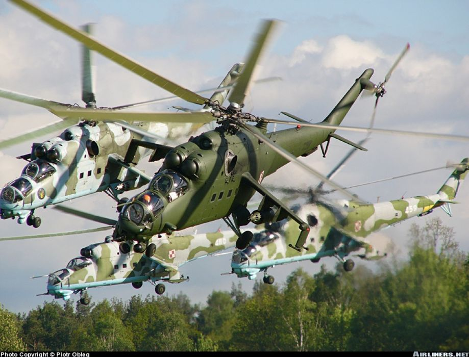 Poland helicopter aircraft attack military army mil-mi wallpaper