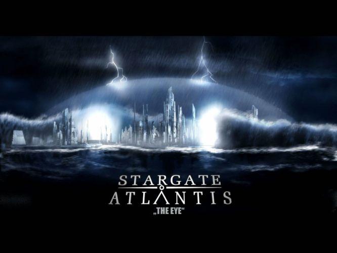 STARGATE ATLANTIS adventure television series action drama sci-fi (19) wallpaper