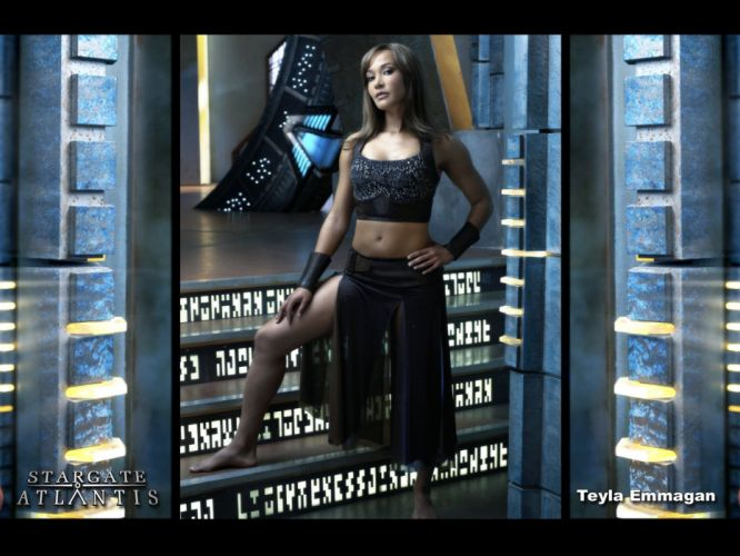 STARGATE ATLANTIS adventure television series action drama sci-fi (16) wallpaper