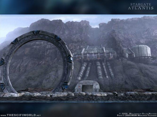 STARGATE ATLANTIS adventure television series action drama sci-fi (34) wallpaper
