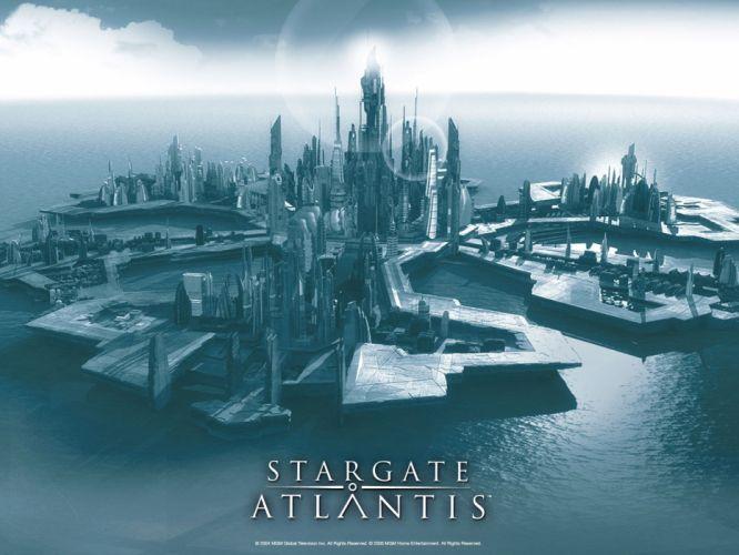 STARGATE ATLANTIS adventure television series action drama sci-fi (32) wallpaper