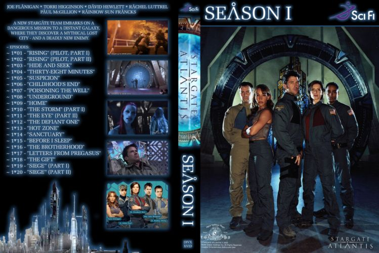 STARGATE ATLANTIS adventure television series action drama sci-fi (28) wallpaper