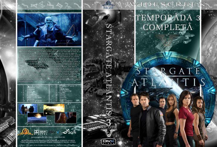 STARGATE ATLANTIS adventure television series action drama sci-fi (25) wallpaper