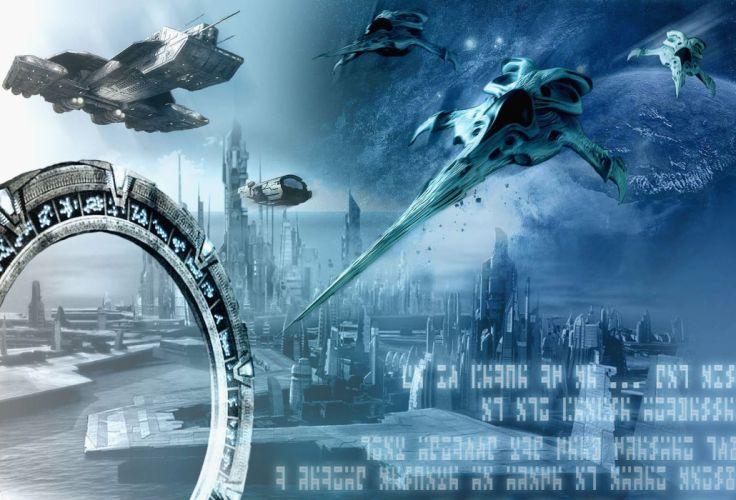 STARGATE ATLANTIS adventure television series action drama sci-fi (49) wallpaper