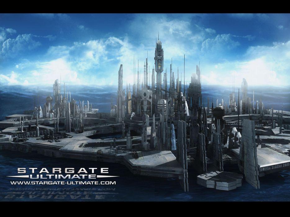 STARGATE ATLANTIS adventure television series action drama sci-fi (54) wallpaper