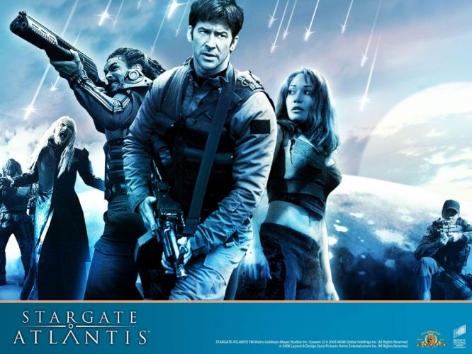 STARGATE ATLANTIS adventure television series action drama sci-fi (44) wallpaper
