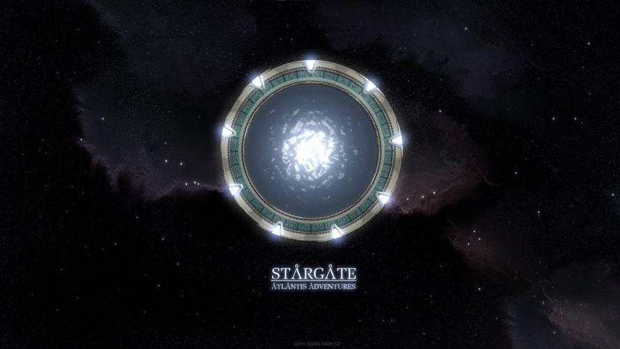 STARGATE ATLANTIS adventure television series action drama sci-fi (58) wallpaper