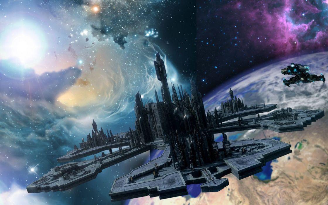 STARGATE ATLANTIS adventure television series action drama sci-fi (76) wallpaper