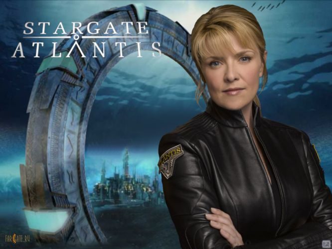 STARGATE ATLANTIS adventure television series action drama sci-fi (70) wallpaper