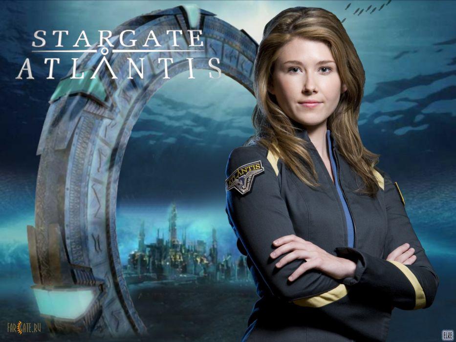 STARGATE ATLANTIS adventure television series action drama sci-fi (69) wallpaper