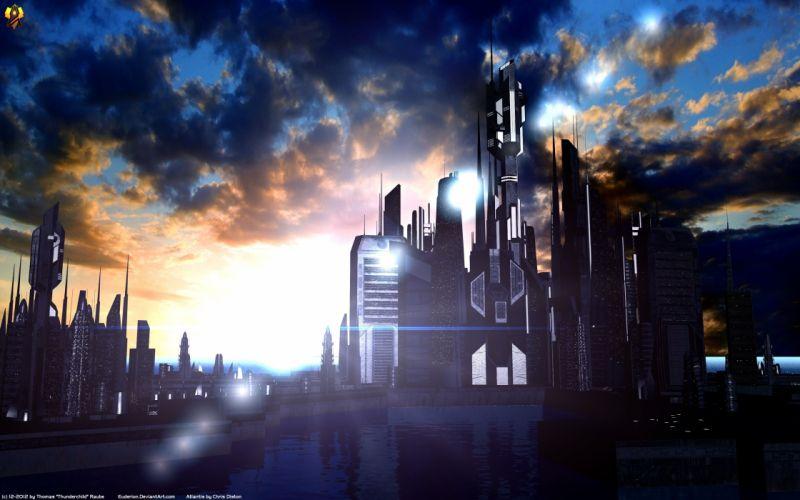 STARGATE ATLANTIS adventure television series action drama sci-fi (74) wallpaper