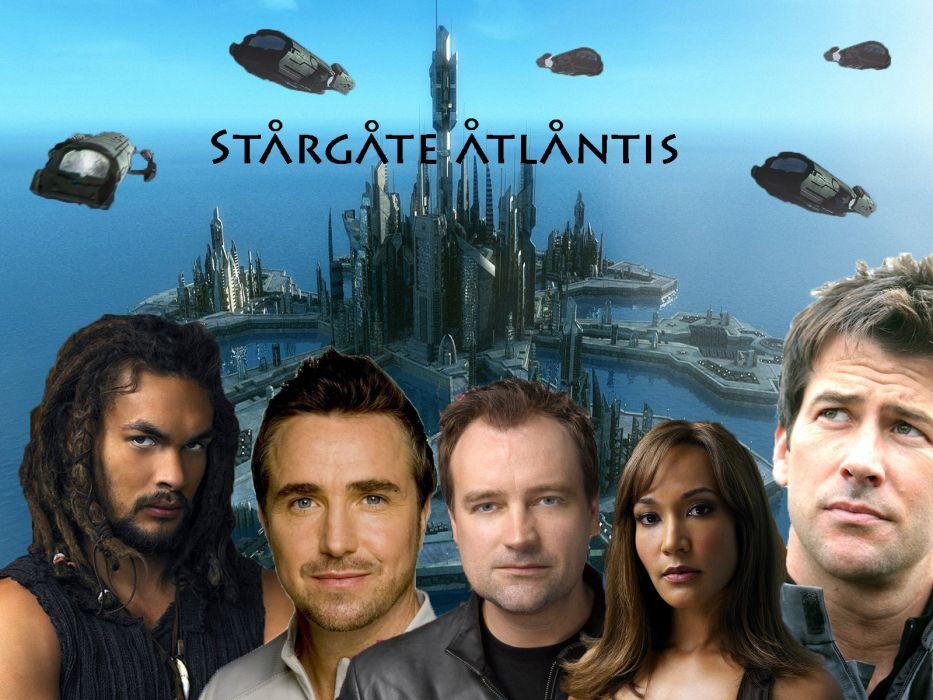 STARGATE ATLANTIS adventure television series action drama sci-fi (95) wallpaper