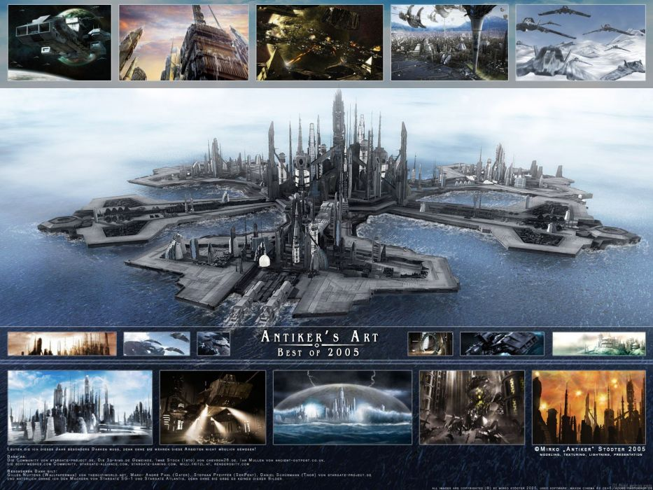 STARGATE ATLANTIS adventure television series action drama sci-fi (105) wallpaper
