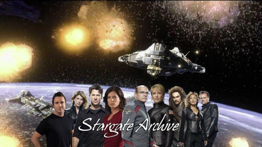 STARGATE SG1 adventure television series action drama sci-fi (13) wallpaper