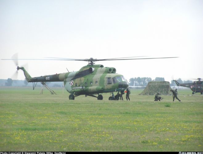 helicopter aircraft transport mil-mi military army Poland wallpaper
