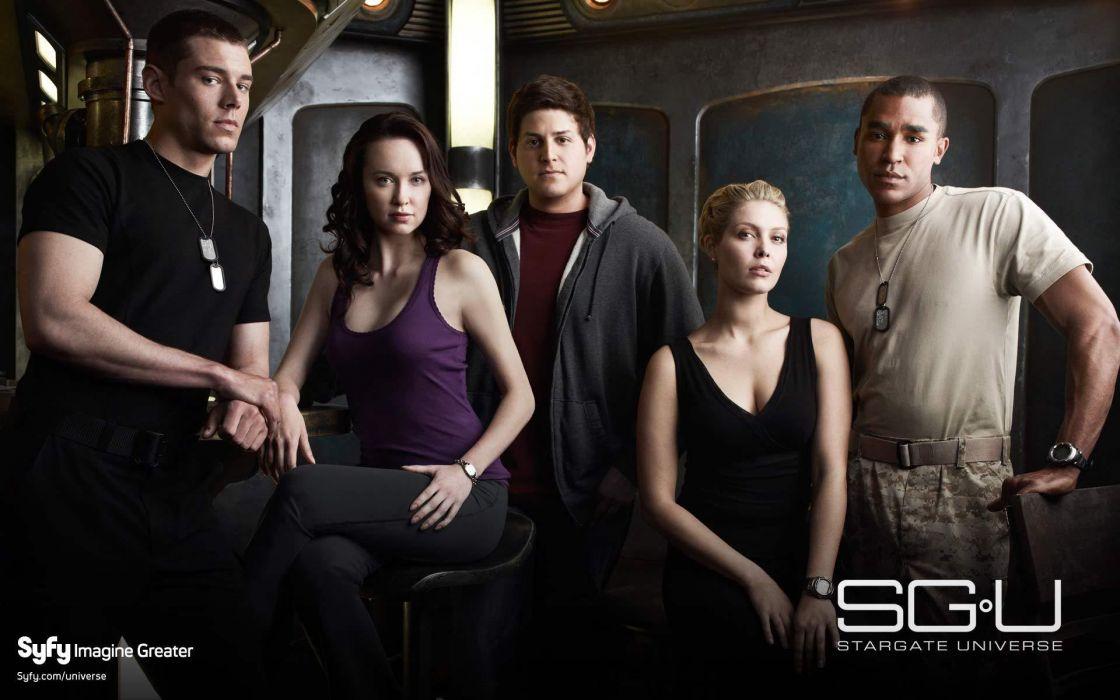 STARGATE SGU adventure television series action drama sci-fi (6) wallpaper