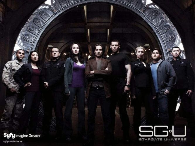 STARGATE SGU adventure television series action drama sci-fi a wallpaper