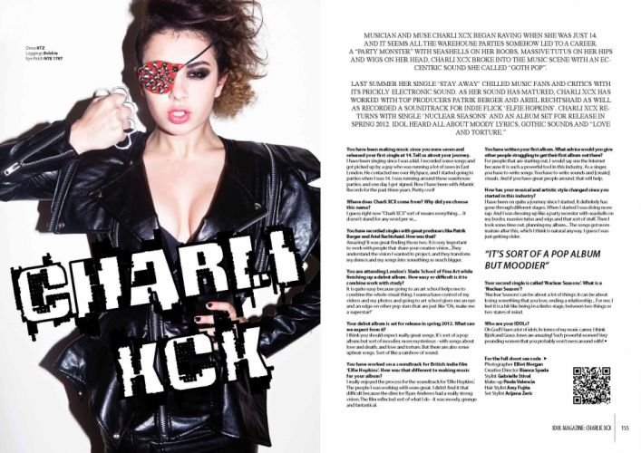 CHARLI XCX synthpop indietronica darkwave house pop indie electronica (3) wallpaper