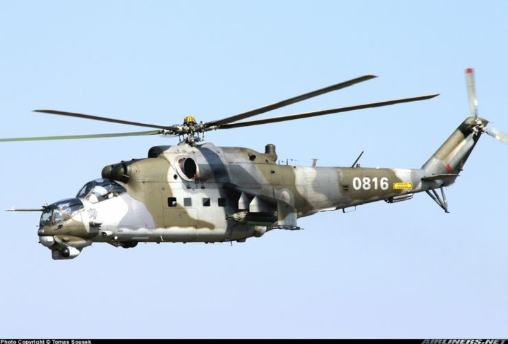 helicopter aircraft attack military army mil-mi Hungary wallpaper