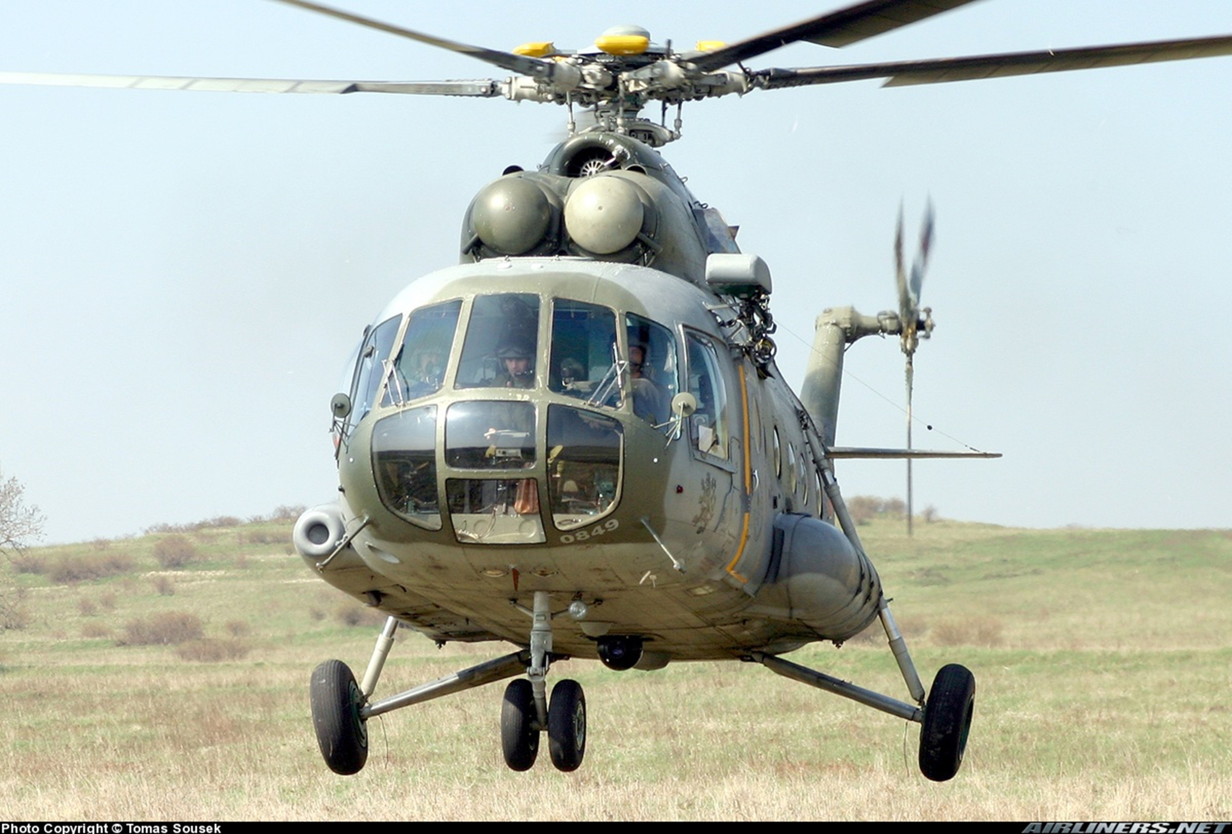 Helicopter aircraft transport cargo military army mil-mi ...