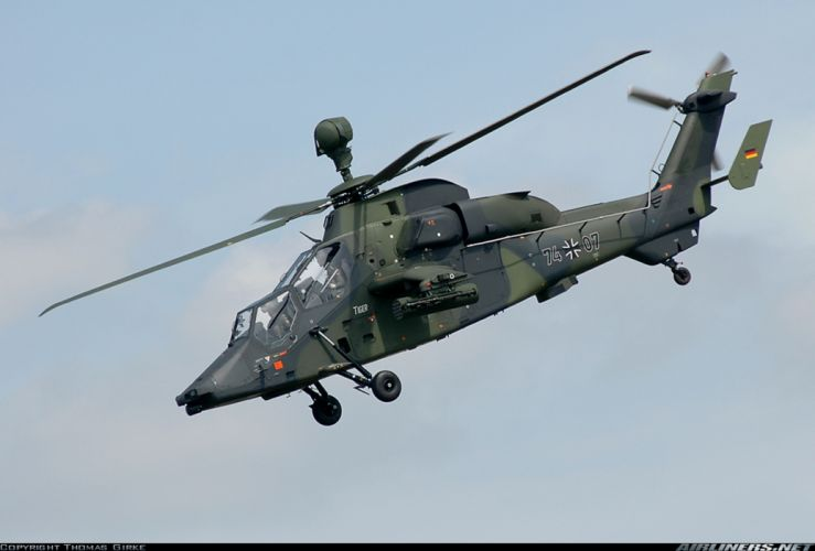 helicopter aircraft attack military army Germany eurocopter tiger wallpaper