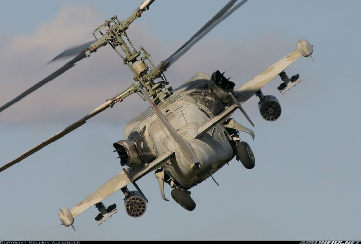 russian red star Russia helicopter aircraft attack military army kamov ka-50 wallpaper