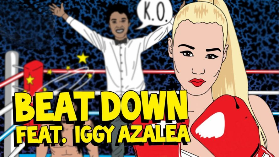 IGGY AZALEA hip hop electronic dance pop babe rap rapper (20) wallpaper