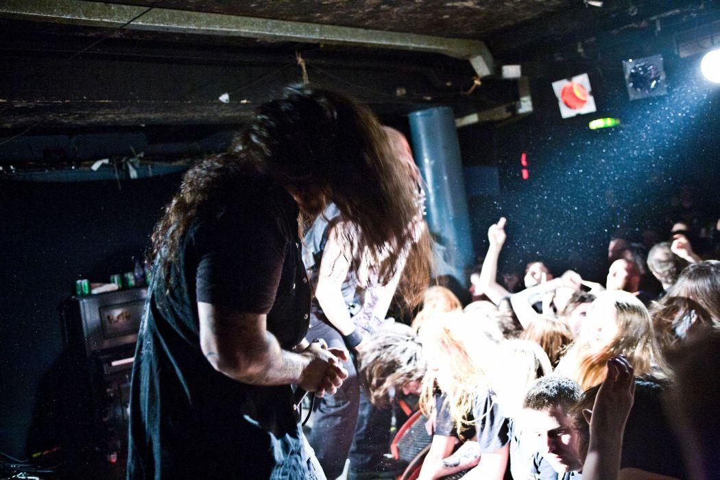 KATAKLYSM death metal thrash heavy concert singer crowd wallpaper