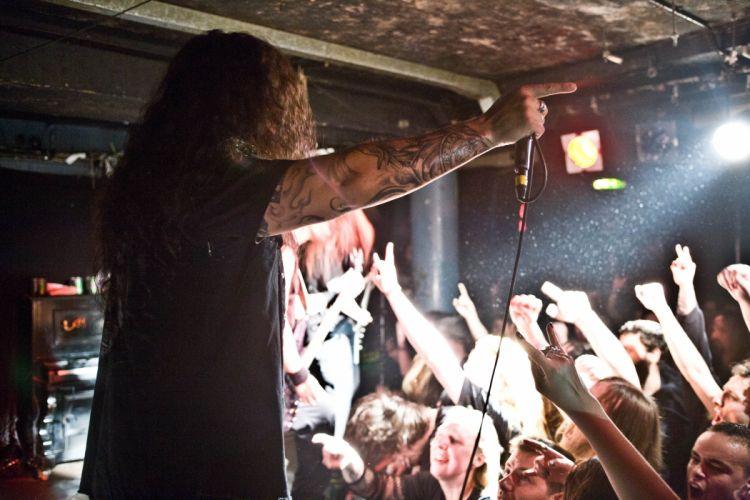 KATAKLYSM death metal thrash heavy concert singer wallpaper