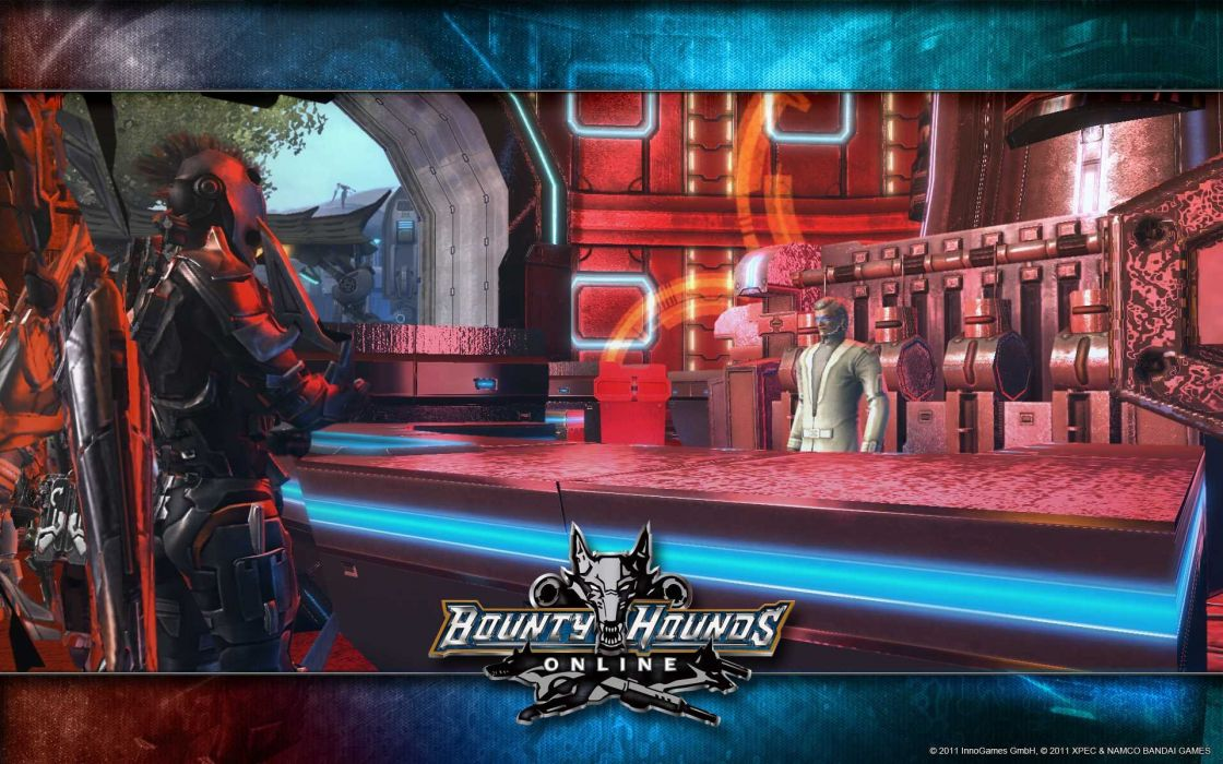 BOUNTY-HOUNDS-ONLINE shooter action sci-fi game bounty hounds online fantasy mmo (2) wallpaper