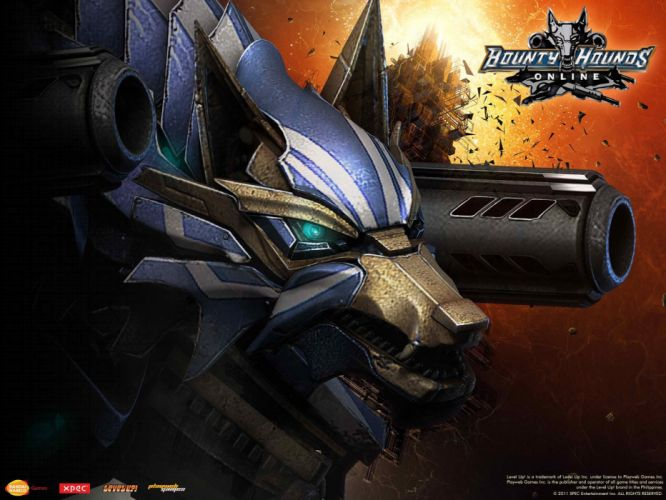 BOUNTY-HOUNDS-ONLINE shooter action sci-fi game bounty hounds online fantasy mmo (9) wallpaper