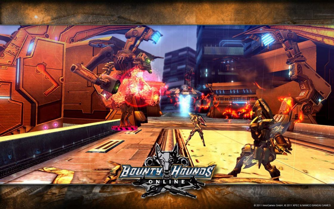 BOUNTY-HOUNDS-ONLINE shooter action sci-fi game bounty hounds online fantasy mmo (22) wallpaper