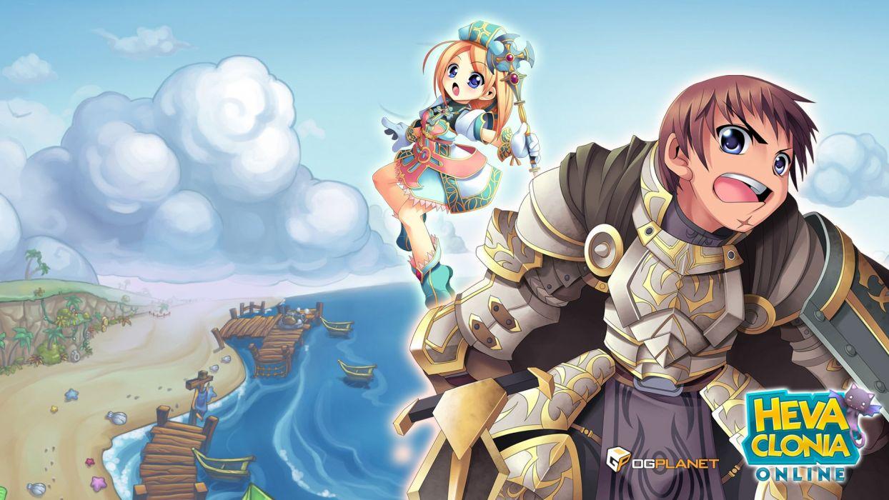 HEVA-CLONIA-ONLINE mmo fantasy game heva clonia online anime (11) wallpaper