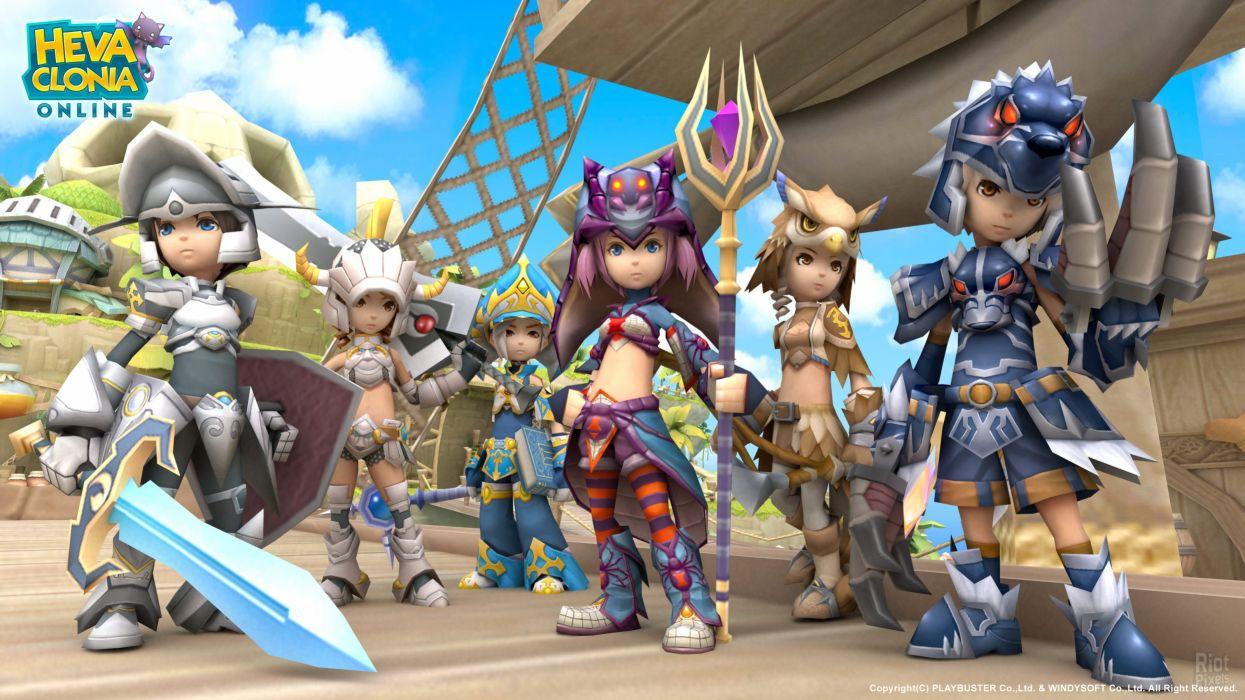 HEVA-CLONIA-ONLINE mmo fantasy game heva clonia online anime (18) wallpaper