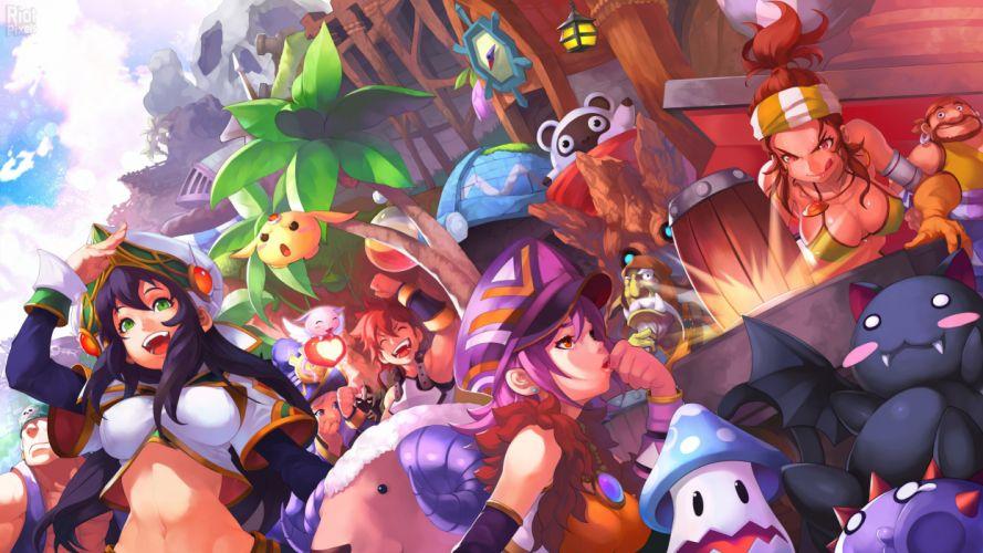 HEVA-CLONIA-ONLINE mmo fantasy game heva clonia online anime (19) wallpaper
