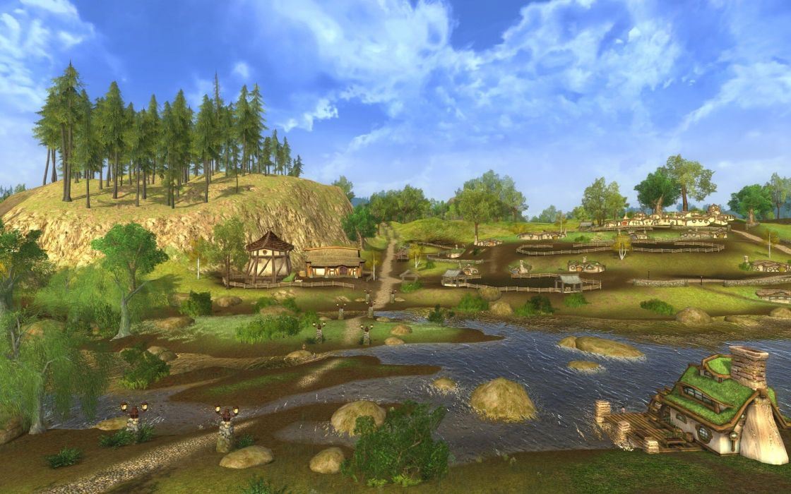 Lord-of-the-Rings-Online lotr mmo game fantasy action adventure lord rings online (4) wallpaper
