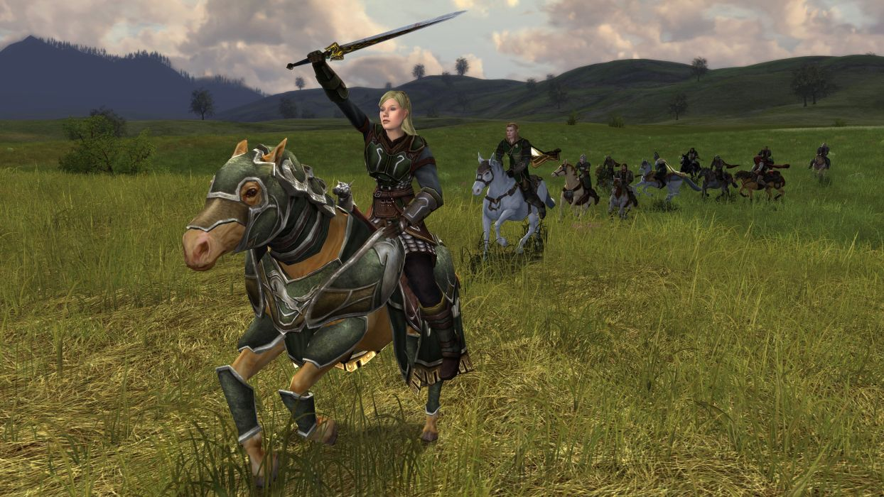 Lord-of-the-Rings-Online lotr mmo game fantasy action adventure lord rings online (55) wallpaper