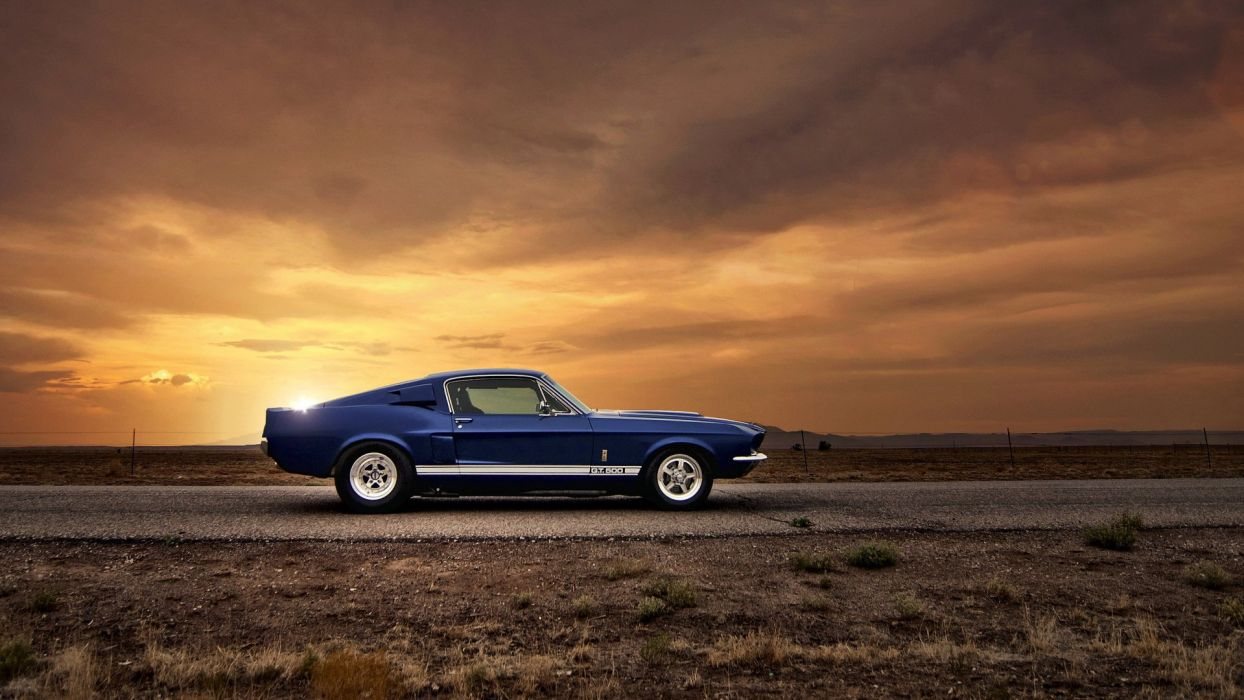 muscle car car ford mustang gt500 hot rod rods wallpaper