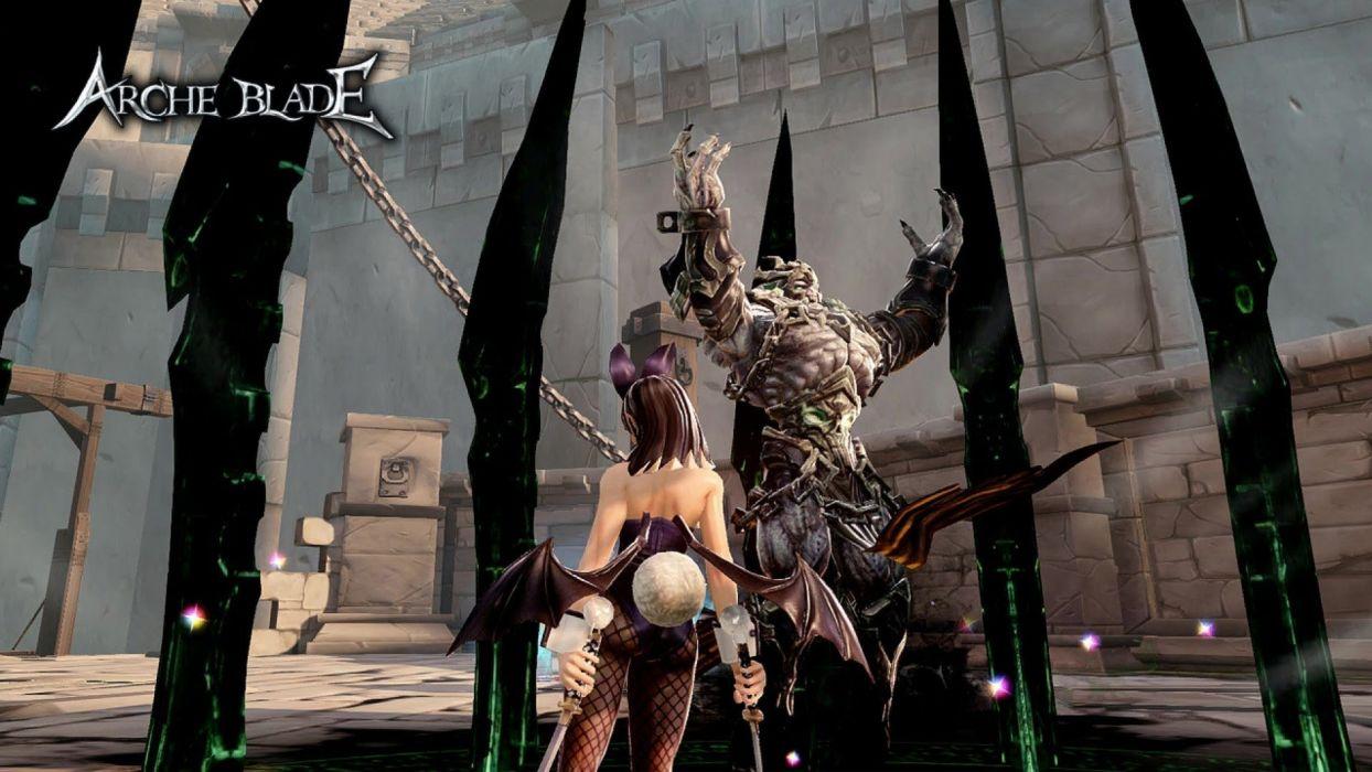 ARCHEBLADE mmo online action fantasy game arche blade warrior (2) wallpaper