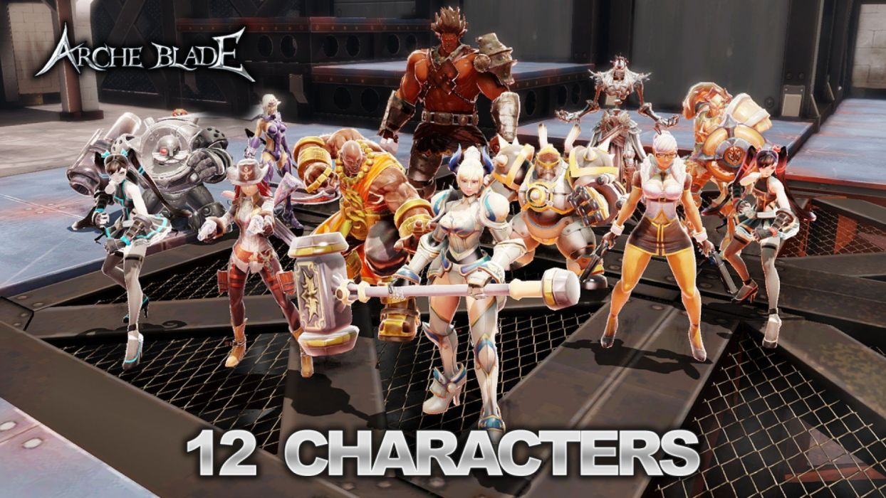 ARCHEBLADE mmo online action fantasy game arche blade warrior (9) wallpaper