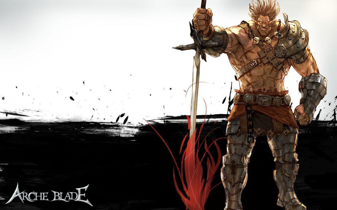 ARCHEBLADE mmo online action fantasy game arche blade warrior (26) wallpaper