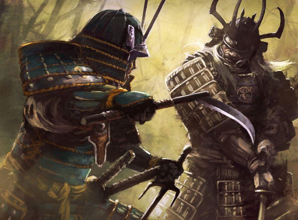 L5R Legend-of-the-Five-Rings fantasy online cardgame legend five rings mmo game warrior samurai battle wallpaper