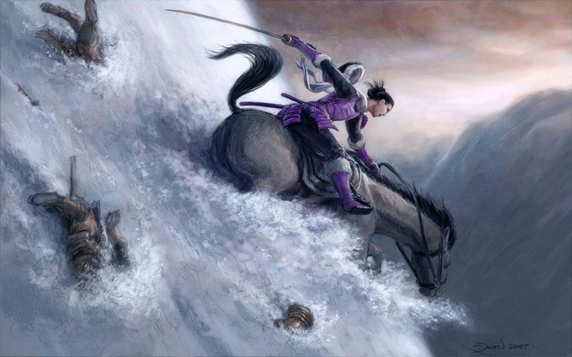 L5R Legend-of-the-Five-Rings fantasy online cardgame legend five rings mmo game warrior samurai (35) wallpaper