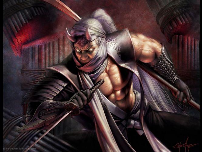 L5R Legend-of-the-Five-Rings fantasy online cardgame legend five rings mmo game warrior samurai (38)_JPG wallpaper