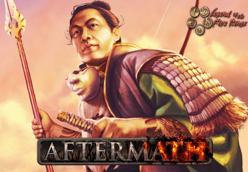 L5R Legend-of-the-Five-Rings fantasy online cardgame legend five rings mmo game warrior samurai (43) wallpaper