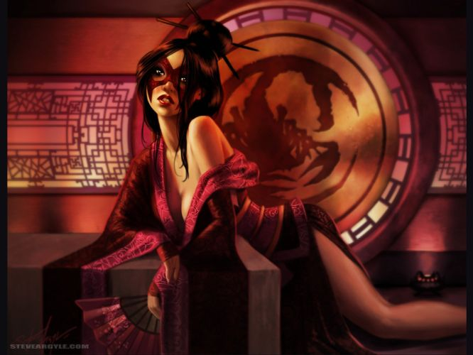 L5R Legend-of-the-Five-Rings fantasy online cardgame legend five rings mmo game warrior samurai (49) wallpaper
